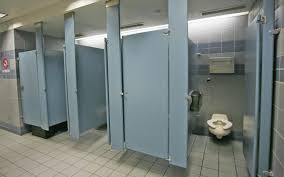 bathroom stall partitions. Bathroom Stall Partitions In Public Sphere: Space Idea With Blue Partition ~ Inspiration