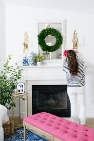 colorful living rooms. Bright And Colorful Living Room With Family Friendly Details In Navy, Pink, Green, Rooms