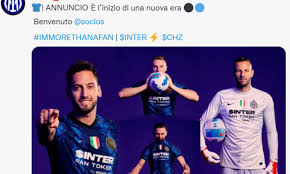 Inter, UFFICIALE: Socios è il nuovo sponsor. Sulla maglia la scritta 'fan  token' FOTO (mvnj)