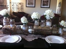 Decorating With Mason Jars And Burlap Burlap And Lace Mason Jar Wedding Centerpieces IPunya 44