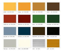 Colour Chart Stand Oil Paint Kreidezeit Naturfarben Gmbh