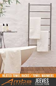 heated towel racks for bathrooms. jeeves collection - model f: straight/polished (fsp) heated towel rack racks for bathrooms n