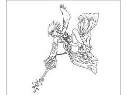 Small Picture Coloring Kingdom Hearts Aqua YouTube