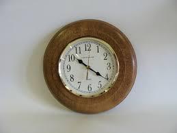 ingraham quartz wall clock battery