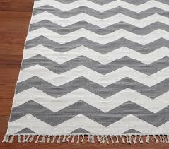 view larger chevron rug gray modern rugs by pottery barn kids