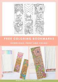Learning bookmarks and activity sheets for kids, students, teachers. Free Coloring Bookmarks To Make Your Reading Colorful