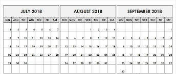 Printable Planner For July And August Download Them Or Print