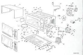 kenmore microwave parts. a breakdown of newer counter style microwave kenmore parts