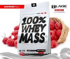 Výsledek obrázku pro Hi Tec Nutrition BS Blade 100% Whey Mass Gainer 3000 g