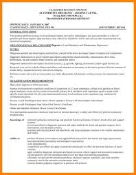 8 Maintenance Mechanic Resume Incidental Report