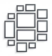 Paper Frames Templates Wall Picture Frames Templates Isolated On White Background