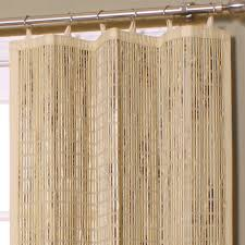 image of bamboo curtain panel