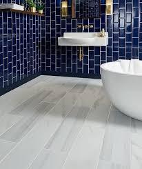 bathroom floor tile blue. Legato™ Matt Tile Bathroom Floor Blue 0