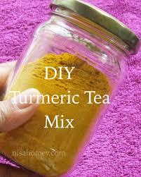 turmeric tea mix