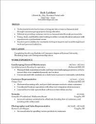 landscaping skills for resume relevant computer skills for resume resume  template relevant skills for resume examples