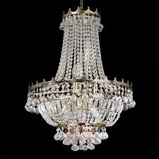 Kristall Kronleuchter Versailles Goldfarben 55 Cm
