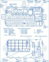 1993 honda civic ex fuse box diagram honda civic si 1993 main engine fuse box block circuit breaker
