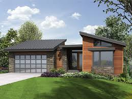 stylish sleek and contemporary this cool design features large walls of windows for passive daylighting the main floor holds the vaulted master suite