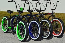 sikk custom beach cruisers fat tire cruisers fat tire bike