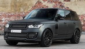 Land Rover Range Rover 3 0 Tdv6 Vogue 600 Le Luxury Edition By Kahn Design Muted Matte Black Range Rover Range Rover Black Luxury Cars Range Rover