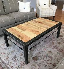 ... Large Size Of Coffee Tables:astonishing Industrial Coffee Table  Attractive Teak And Black Rectangle Oak ...