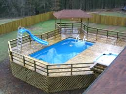 average cost to build a deck around an above ground pool building home and within your