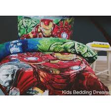 unusual inspiration ideas iron man bed sheets avengers age of ultron quilt cover set bedding kids twin