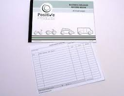 Mileage Book Details About Mileage Record Book 26 Single Pages Hmrc Compliant Log Book Pad