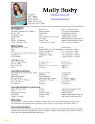 Performing Arts Resume Examples Dj Resume Sample Luxury Inspiration Performing Arts Resume Samples 2