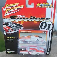 dodge io 2016 johnny lightning 1966 dodge charger ~the spoilers~street freaks release 2b