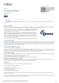 Z Wave Ambient Light Sensor Manual Steinel L 810 Led I Hf Outdoor Light With Led