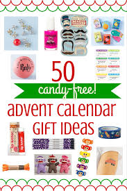 50 ideas for candy free advent calendar gifts
