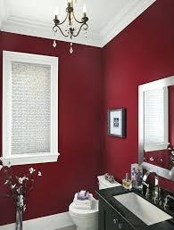 small black chandelier for bathroom elegant modern bathroom colors dark red wall black vanity chandelier