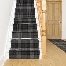 black stair runner rug tartan with stair runner carpet install a stair runner carpet on top