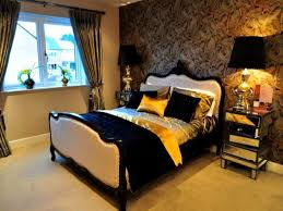 Cream Brown Gold Bedroom Ideas