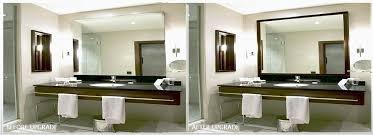 bathroom framed mirrors lovely frame bathroom mirror with glass tile framing framed mirrors for