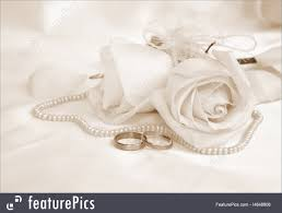 Wedding Photo Background Wedding Rings And Roses Can Use As Wedding Background In Sepia Toned Retro Style