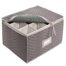 wine glass storage box. Wine Glass Storage Chest Preparing Zoom Inside Box