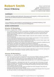 good marketing resumes marketing resume skills