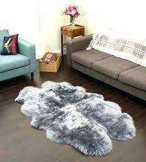 dark brown sheepskin rug grey faux sheepskin rug grey sheepskin rug grey quad sheepskin rug 4 dark brown sheepskin rug