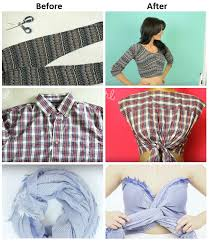 Make Your Shirt Simple Steps To Make Your Own Crop Top Alldaychic