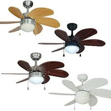 30 inch ceiling fan with light kit satin nickel oil rubbed bronze or white