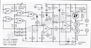 humidity control switch circuit humidity controlled switch circuit schematic