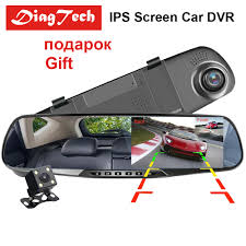 <b>4.3 inch Car DVR</b> Mirror Car Dvr Camera HD 1080P Rear View ...