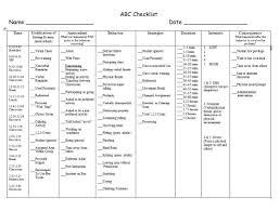 Abc Chart Checklist Bedowntowndaytona Com