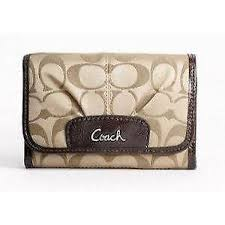 Coach Ashley Signature Wallet