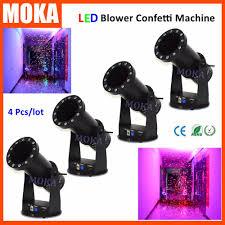 halloween lighting effects machine. 4pcs/lot Stage Confetti Machine Christmas Lighting Effect Cannon For Weddings,birthday, Halloween Effects S