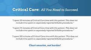 Critical Care Time Chart This Is Your Reimbursement Potential Critical Care Billing