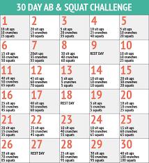 66 High Quality Printable 30 Day Ab Challenge