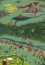 make some 8 bit art see more it8bit the hobbit pixel art created by dehtyar
